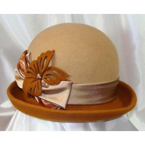 Как украсить фетровую шляпку